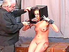 She is his BDSM plaything in video
