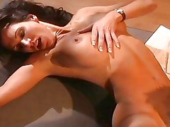 This horny couple gets some hot action in the bedroom