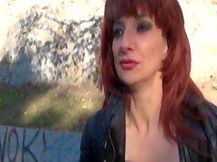 Avril a French mature double penetrated