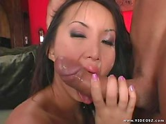 Katsuni Sucks And Buttfucks A Huge Cock