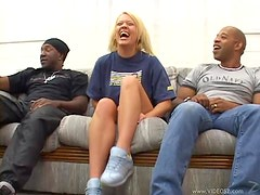Holly Wellin Gangbanged By Black Monster Cocks