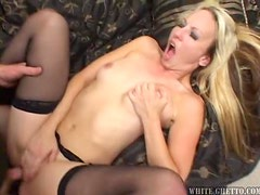 Horny milf Zoe Mathews gets naked and seduces her son in law