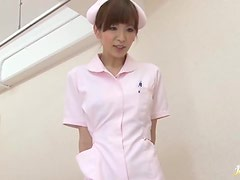 Hot POV video with hot Mai Hanano getting fucked in a hospital