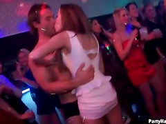 Lots of kissing and dancing at the club