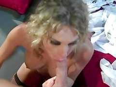 Harmony Rose shoves this hard dick down her throat