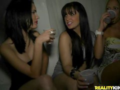 Drunken Babes Go Mad In The VIP Room