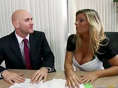 Boss fuck Daisy in office