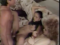 Classic FFM threesome with awesome cumshot
