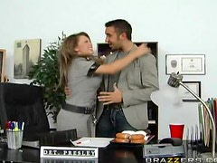 Cindy Big tits fuck in office