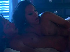 Erotic nighttime sex with pornstar Asa Akira