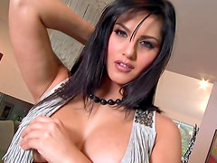 Sunny Leone spread her legs in front our camera, enjoy