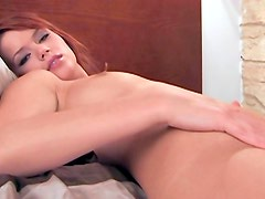 Redhead Kami solo body on video