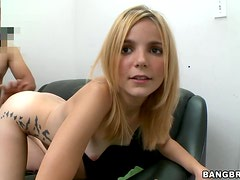 Hardcore Pussy Stretching Action With A Blonde Teen