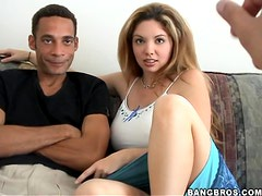 Monster Dick in Kiki's Tight Hole and Loving It A Lot