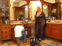 Logjammin A Naughty Housewife!