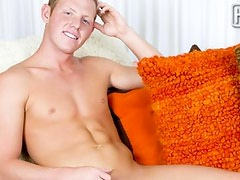 Brenton Wade has to live out his ultimate sexual fantasy by being the model onto Randy Blue.  His debut vid has him showing off his sleaze smooth body shape and shooting 1 hell of the load.