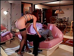 Back cock bangs a hottie