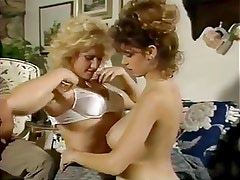 A Very Young Christy Canyon Threesome
