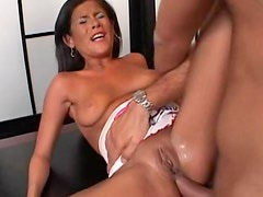 Anal hardcore and cumshot on the face