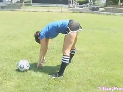 Ass Glazzed after soccer game
