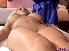 Hot Massage Scene With Sexy Lesbians