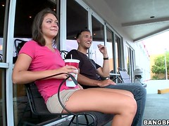 Hot Footjob From The Gorgeous Teen Roxy