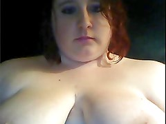 Fat girl on webcam