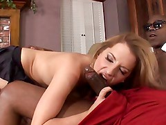 Busty Haley gets fucked by a BBC