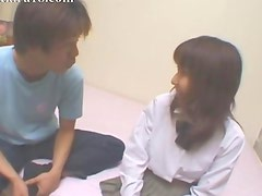 This 18yo japanese chick loves sex