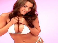 Gorgeous honey in white undies gives you some amazing impressions