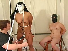 Kinky women star in BDSM threesome