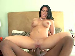 Cheating wife likes a big black cock