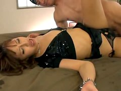 Double Penetration Threesome Makes Japanese Beauty Rola Aoyama Happy