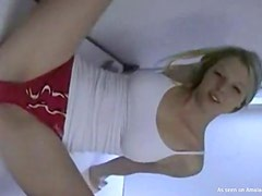 Blonde Teen Gets Her Wet Pussy Beat In A Homemade Video