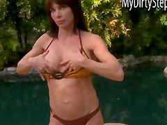 Stepmom Jenna seduces stepdaughters BF