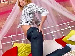 french blondie fingering snatch
