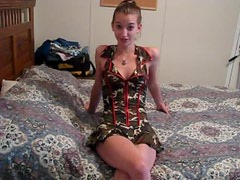 Naughty Teen Talking Dirty