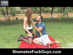 Nicole and mateus ladyboy bonks chap mov