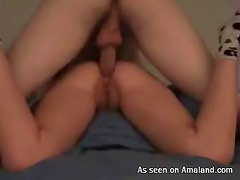 Ass-fucking my horny fiance