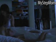Horny stepmom Jenna Moore caught sucking stepdaughters BF