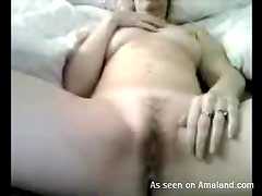 A Close Up Look At A Hot Chick Jerking Her Lover As Her Pussy Gets Wet
