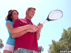 Hot Nonstoping Sex With A Hot Tennis Player
