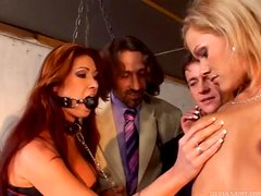 Warehouse Of Weird With Chicks Being Drilled & Dominated
