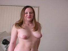 Cute chubby minx knows how to suck dick