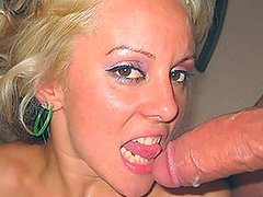 Tiny titty Blonde suggests great dick some shagging