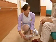 Yuri Kasiwa is a Sexy Japanese Nurse Having Sex