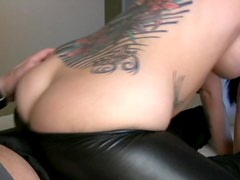 Bubble butt goddess grinds her lovers thick dick
