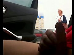 Rus Public Masturb CAR Flash Watching GIRLS 55 - NV