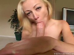 Some Delightful Milf Sucks Dick & Gets Facial After Fucked.