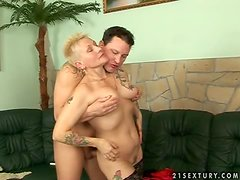 Nyikita gets her pussy fingered and fucked deep and hard